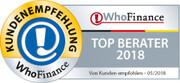 Siegel für die besten Berater Deutschlands 2018